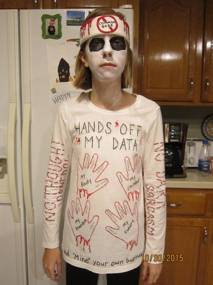 Hands off My Data Costume